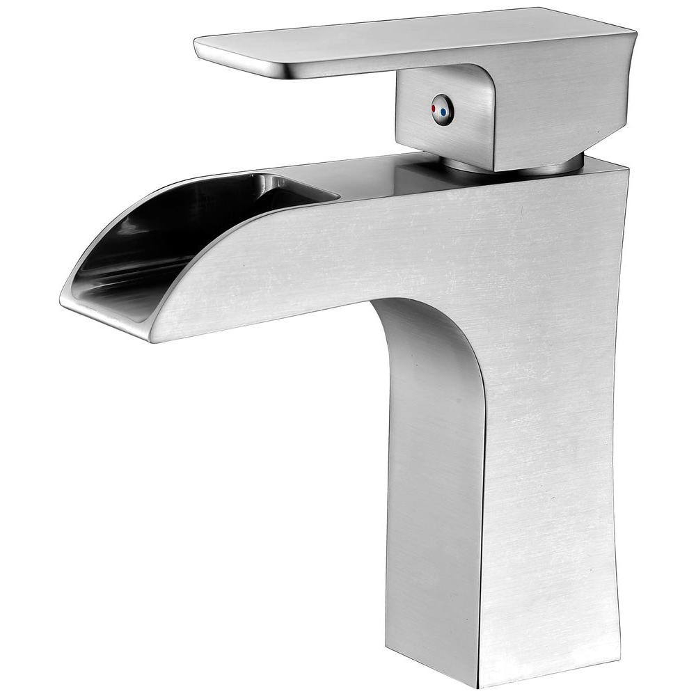 GROHE Grandera Single Hole Single-Handle Bathroom Faucet in Brushed ...