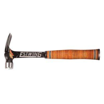 19 oz. Leather Gripped Ultra Framing Hammer with Milled Face