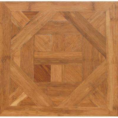 Bordeaux 9/16 in. Thick x 15.75 in. Wide x 15.75 in. Length Engineered Parquet Hardwood Flooring (17.22 sq. ft. / case)