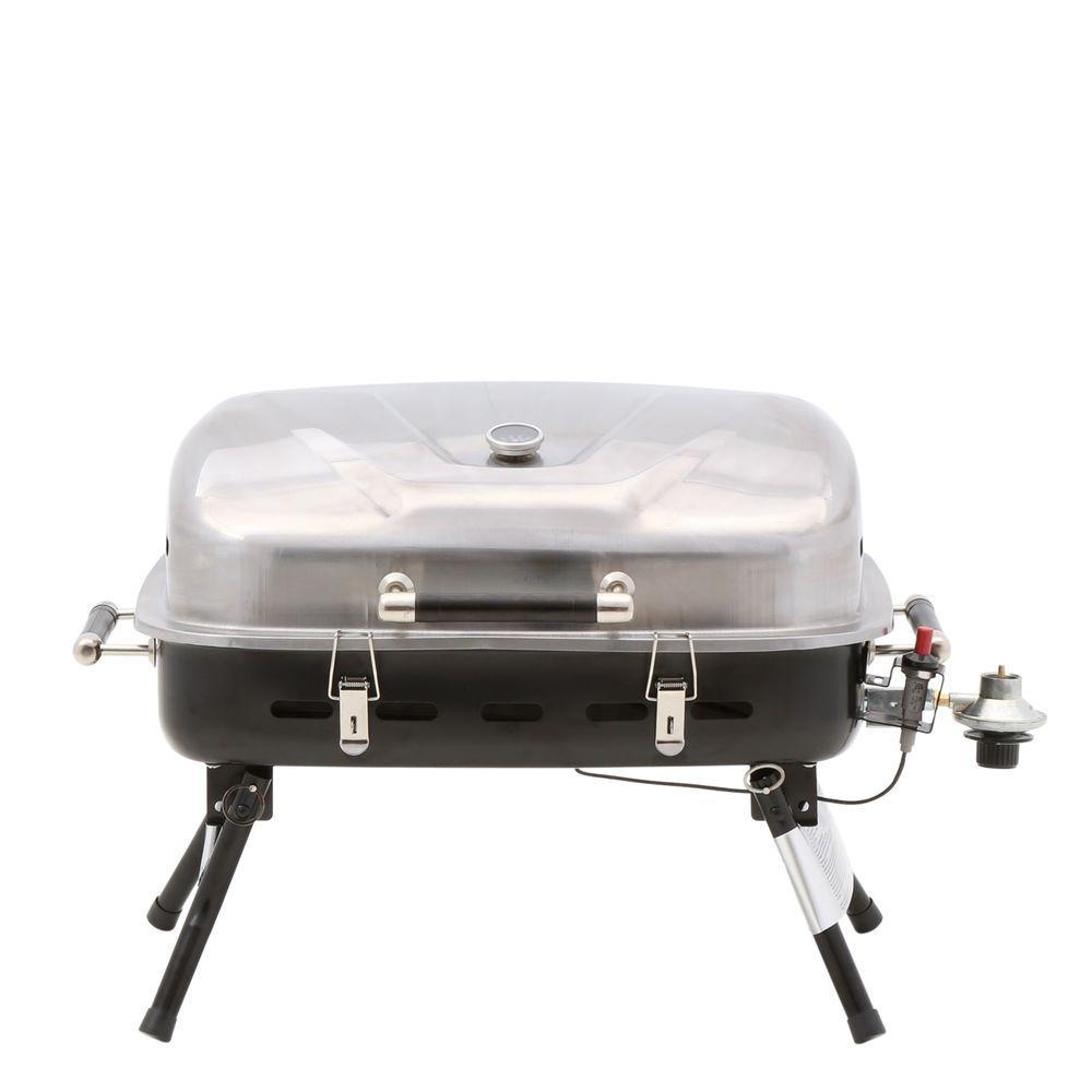 Blue Rhino Gas Griddle ~ Blue rhino burner portable propane gas grill npg ss