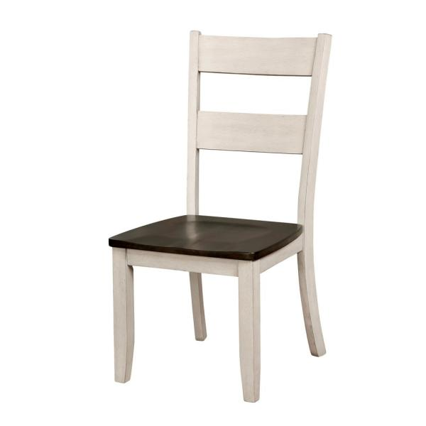 International Concepts Milano Unfinished Wood Side Chair