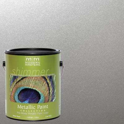 1 gal. Silver Satin Metallic Interior/Exterior Paint