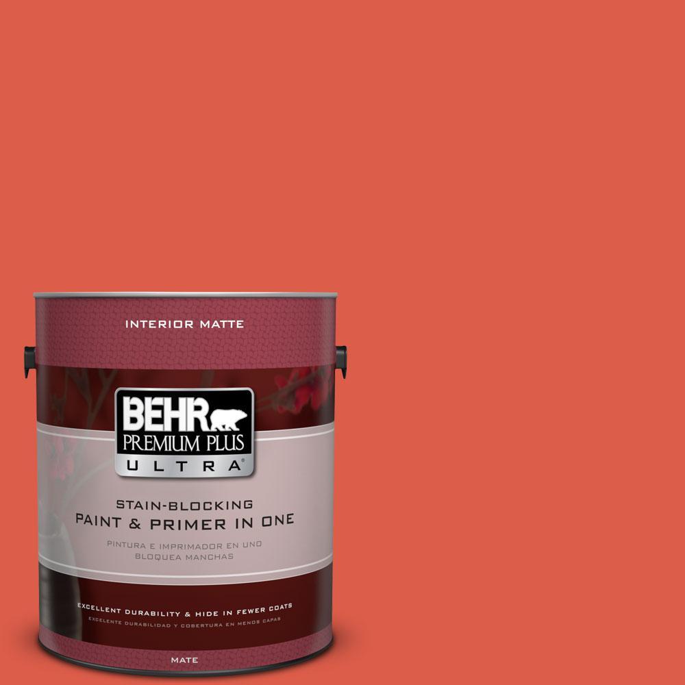 1 gal. #P180-6 Pimento Matte Interior Paint