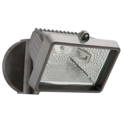 1-Head Bronze Outdoor Mini Flood Light