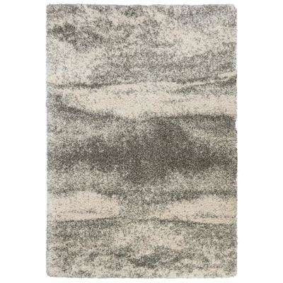 Stormy Gray 5 ft. 3 in. x 7 ft. 6 in. Area Rug