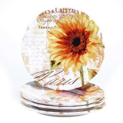 Paris Sunflower Dinner Plate (Set of 4)
