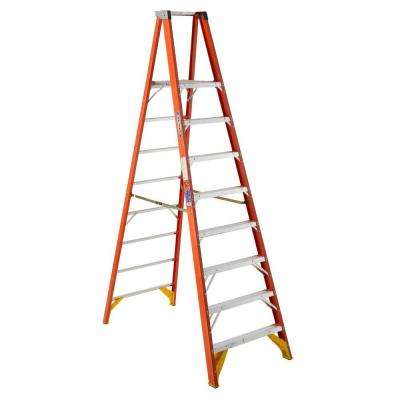 8 ft. Fiberglass Platform Step Ladder 300 lb. Load Capacity Type IA Duty Rating