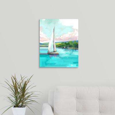"""Sailboat"" by P.S. Art Studios Canvas Wall Art"