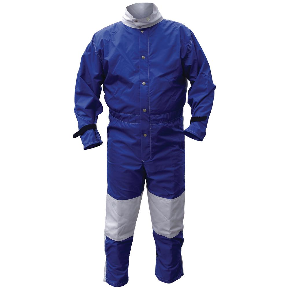Small Nylon Blast Suit in Blue
