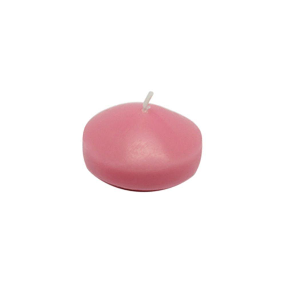 Zest Candle 1.75 in. Pink Floating Candles (Box of 24)