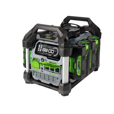 Nexus 3000-Watt 56V Lithium-Ion Power Station Portable Generator, Four 5.0 Ah Batteries Included