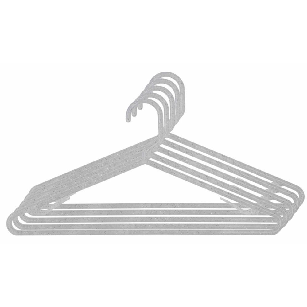 White Plastic Hanger (10-Pack)