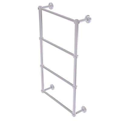 Dottingham 4 Tier 24 in. Ladder Towel Bar in Polished Chrome
