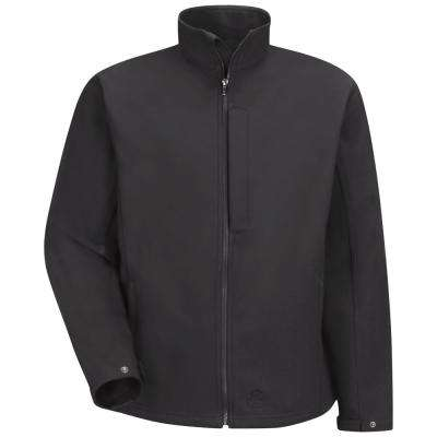 Men's X-Large Black Soft Shell Jacket