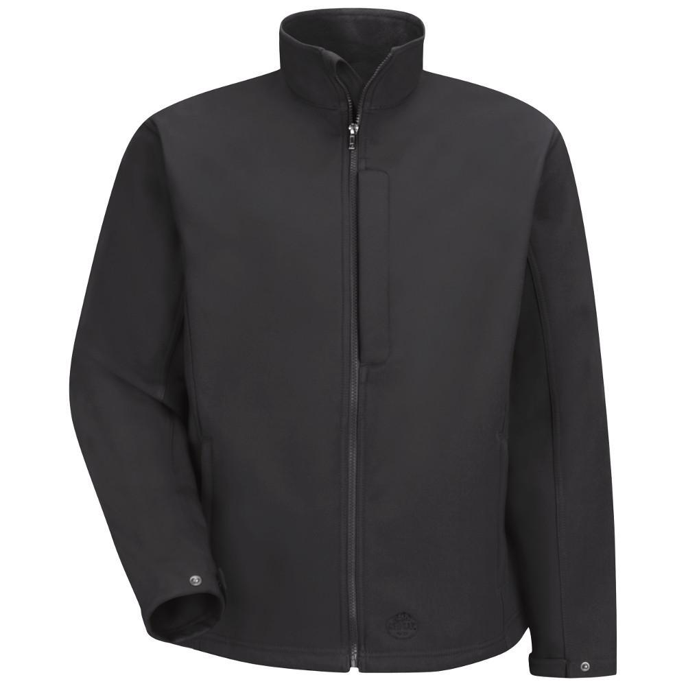 Men's X-Large Black Soft Shell Jacket