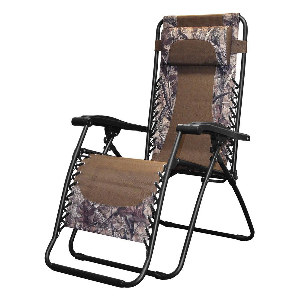 Infinity Camo Metal Zero Gravity Patio Chair 80009000180