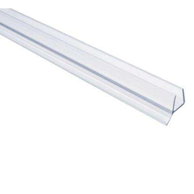 98 in. L Frameless Shower Door Seal for 3/8 Glass