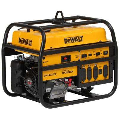 4500-Watt Gasoline Powered Electric/Manual Start Portable Generator with Honda Engine
