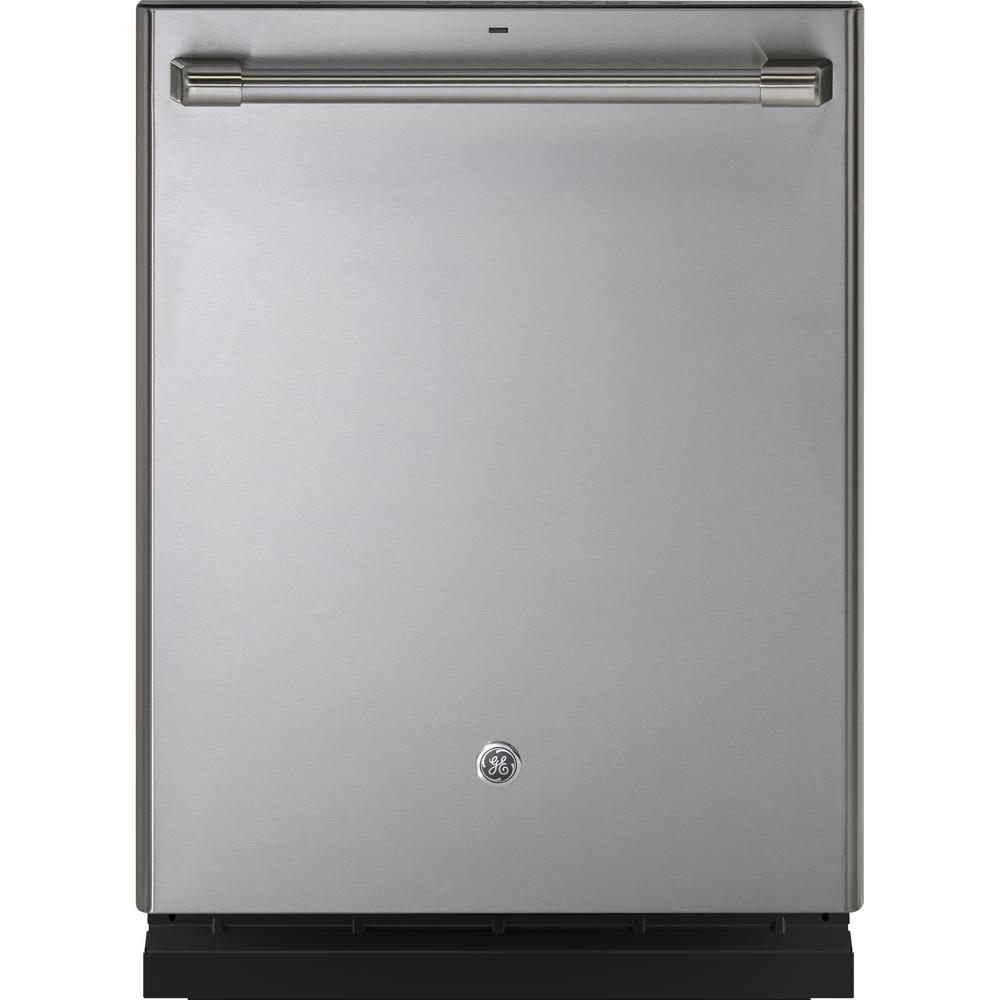 Cafe Top Control Dishwasher in Stainless Steel with Stainless Steel Tub