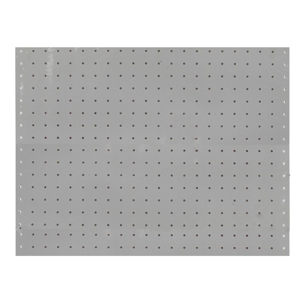 Triton DuraBoard 22 in. W x 18 in. H 3/16 in. Hole White Polypropylene Pegboards (2-Pack)