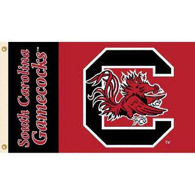 NCAA University of South Carolina 3 ft. x 5 ft. Collegiate 2-Sided Flag with Grommets