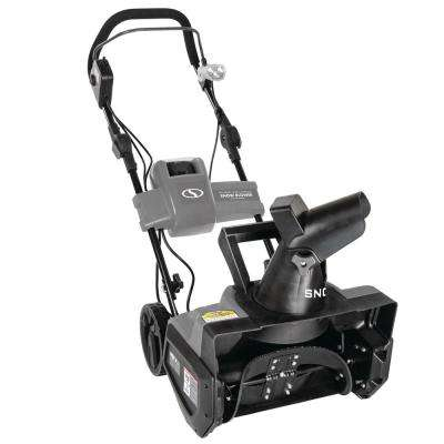 iON 40-Volt Cordless 18 in. Single Stage Brushless Cordless Electric Snow Blower Refurbished in Gray