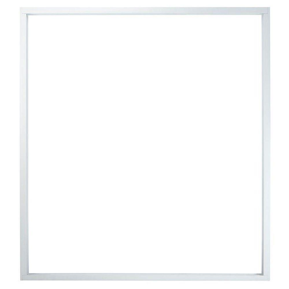 American craftsman 72 in x 80 in 50 series white vinyl for Craftsman frame