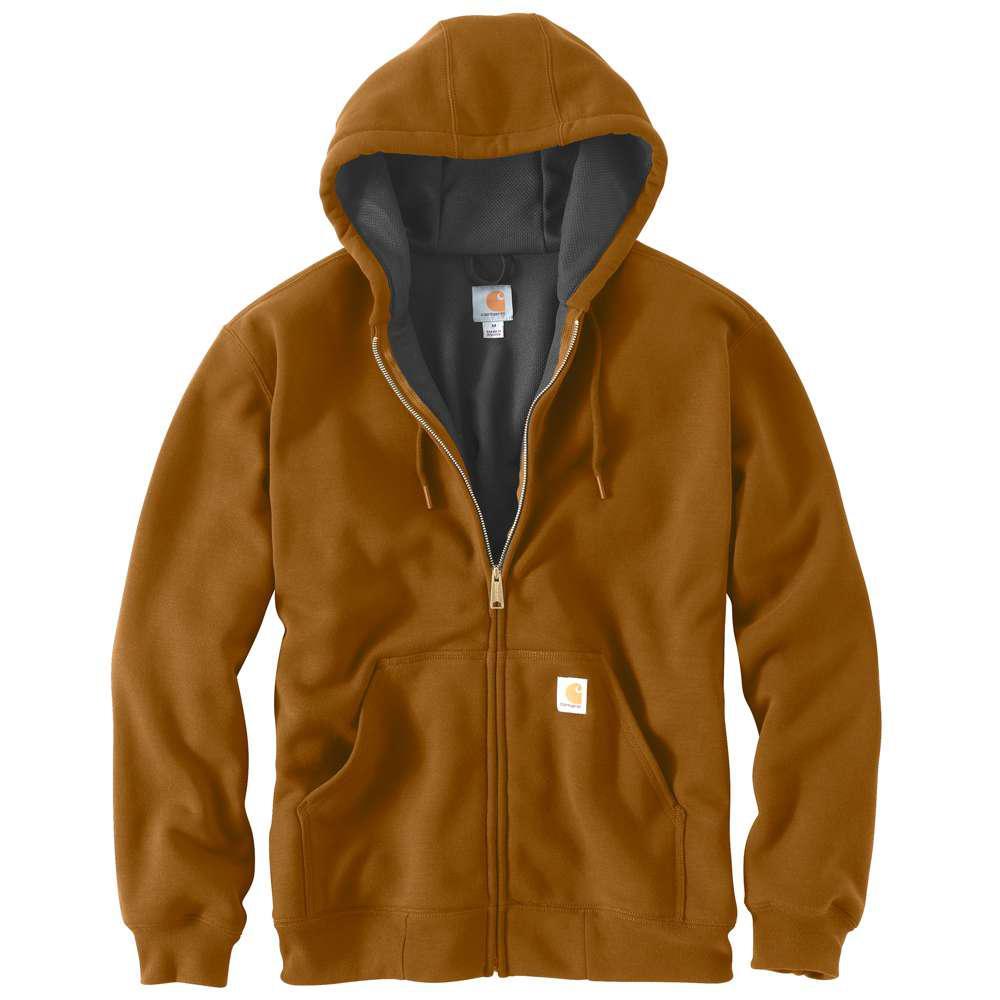 Men's Regular Medium Carhartt Brown Cotton/Polyester  Sweats