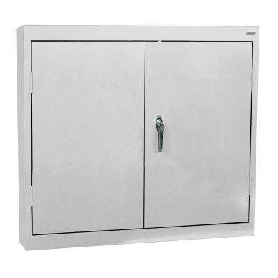30 in. H x 30 in. W x 12 in. D Wall Cabinet in Dove Grey