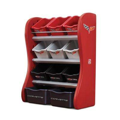 Red Organizer Kids Box