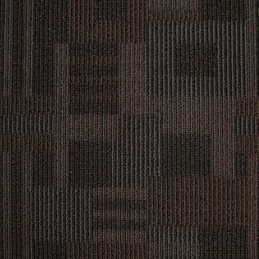 Board of Directors Escarpment Loop 19.7 in. x 19.7 in. Carpet Tile (20 Tiles/Case)