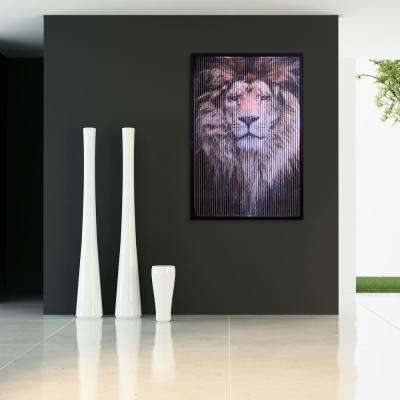 "32 in. x 47 in. ""Boss"" Dimensional Kinetic Wall Art"