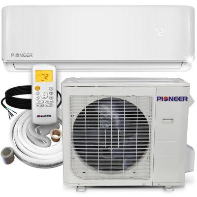 30,000 2.5 Ton 18 SEER Ductless Mini Split Inverter+ Wall Mounted Air Conditioner with Heat Pump 208/230-Volt
