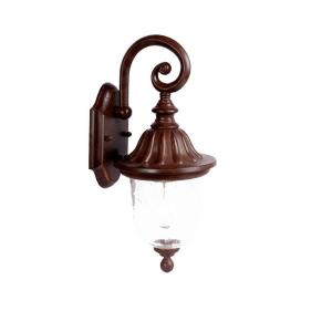 Acclaim Lighting Builder's Choice Collection Wall-Mount 1-Light Outdoor Burled Walnut Light Fixture by Acclaim Lighting