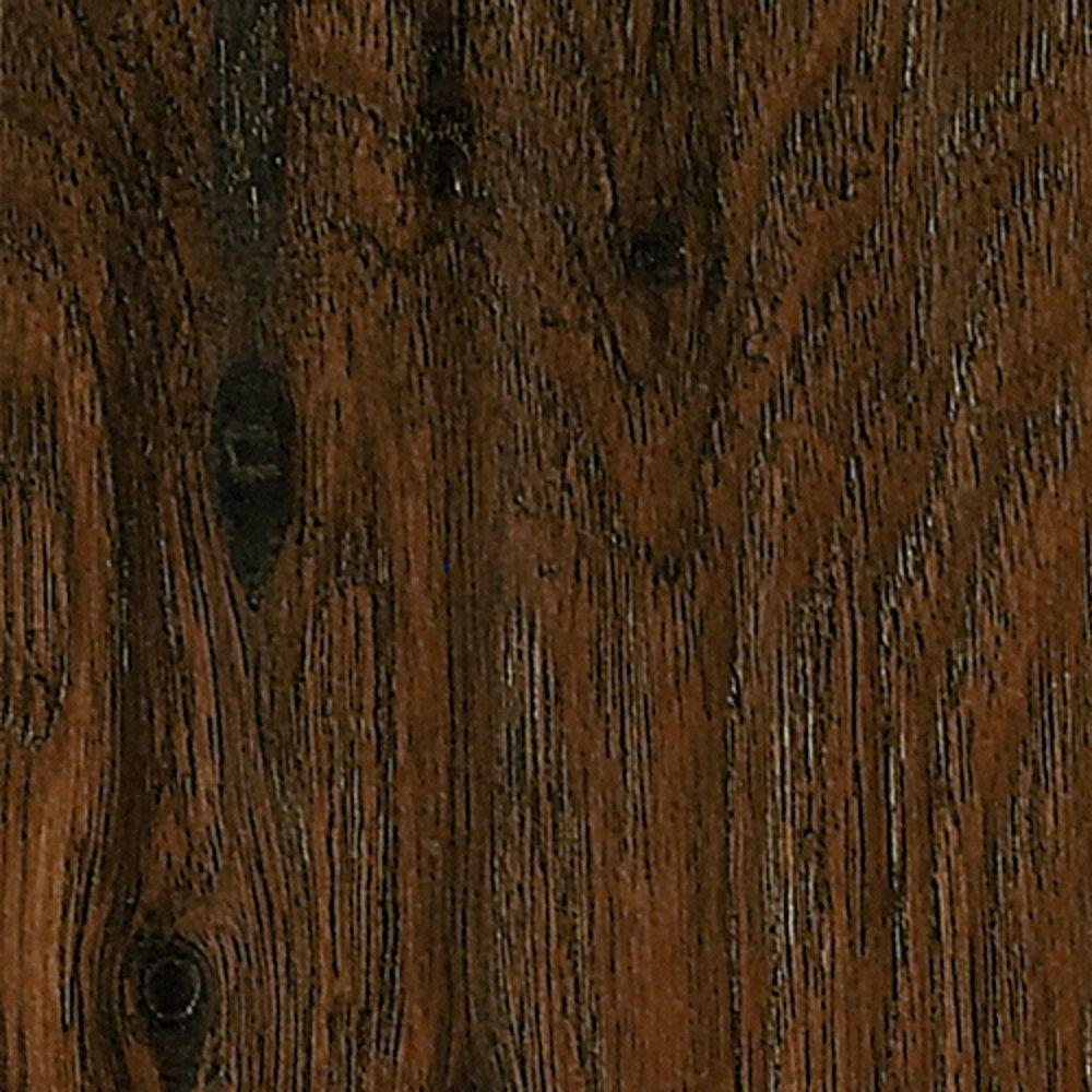 Bruce hickory homestead brown 8 mm thick x in wide x for Bruce laminate flooring