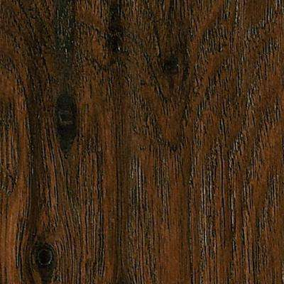 Hickory Homestead Brown 8 mm Thick x 4.92 in. Wide x 47.24 in. Length Laminate Flooring