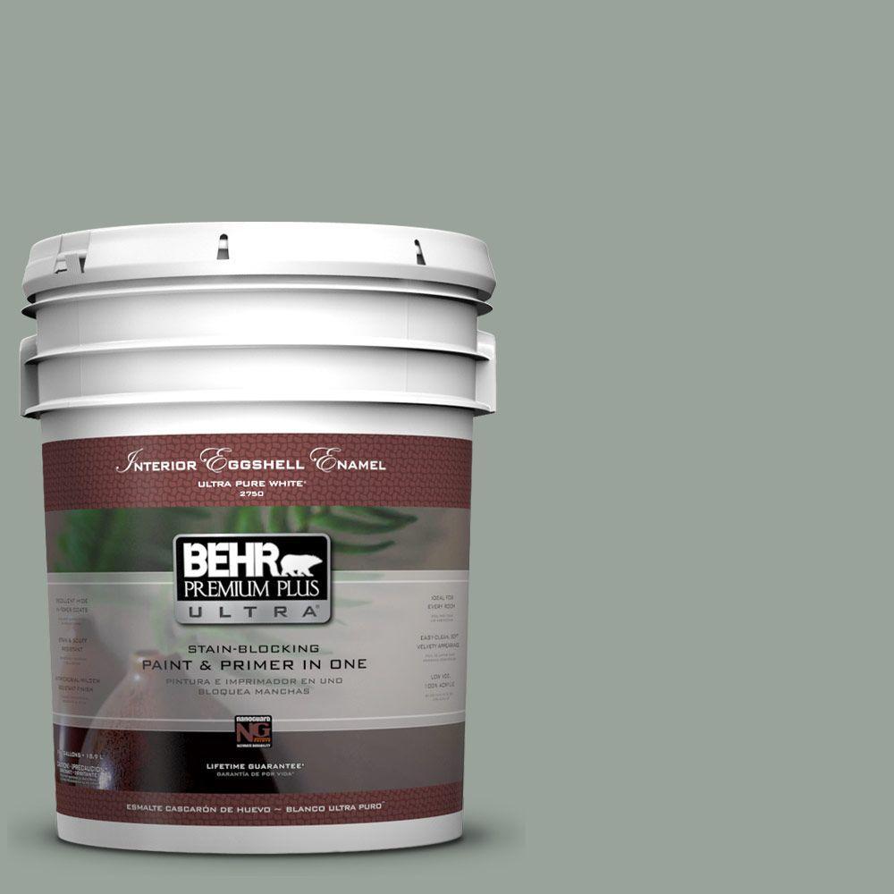 BEHR Premium Plus Ultra 5-gal. #700F-4 Pinedale Shores Eggshell Enamel Interior Paint