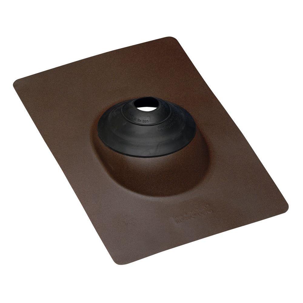 Oatey 14-1/2 in. x 10-3/4 in. Galvanized Steel Angle Flas...