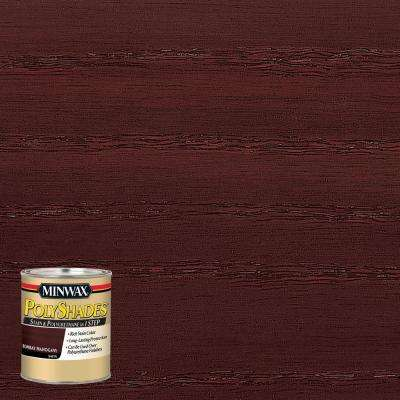 8 oz. PolyShades Bombay Mahogany Satin 1-Step Stain and Polyurethane (4-Pack)