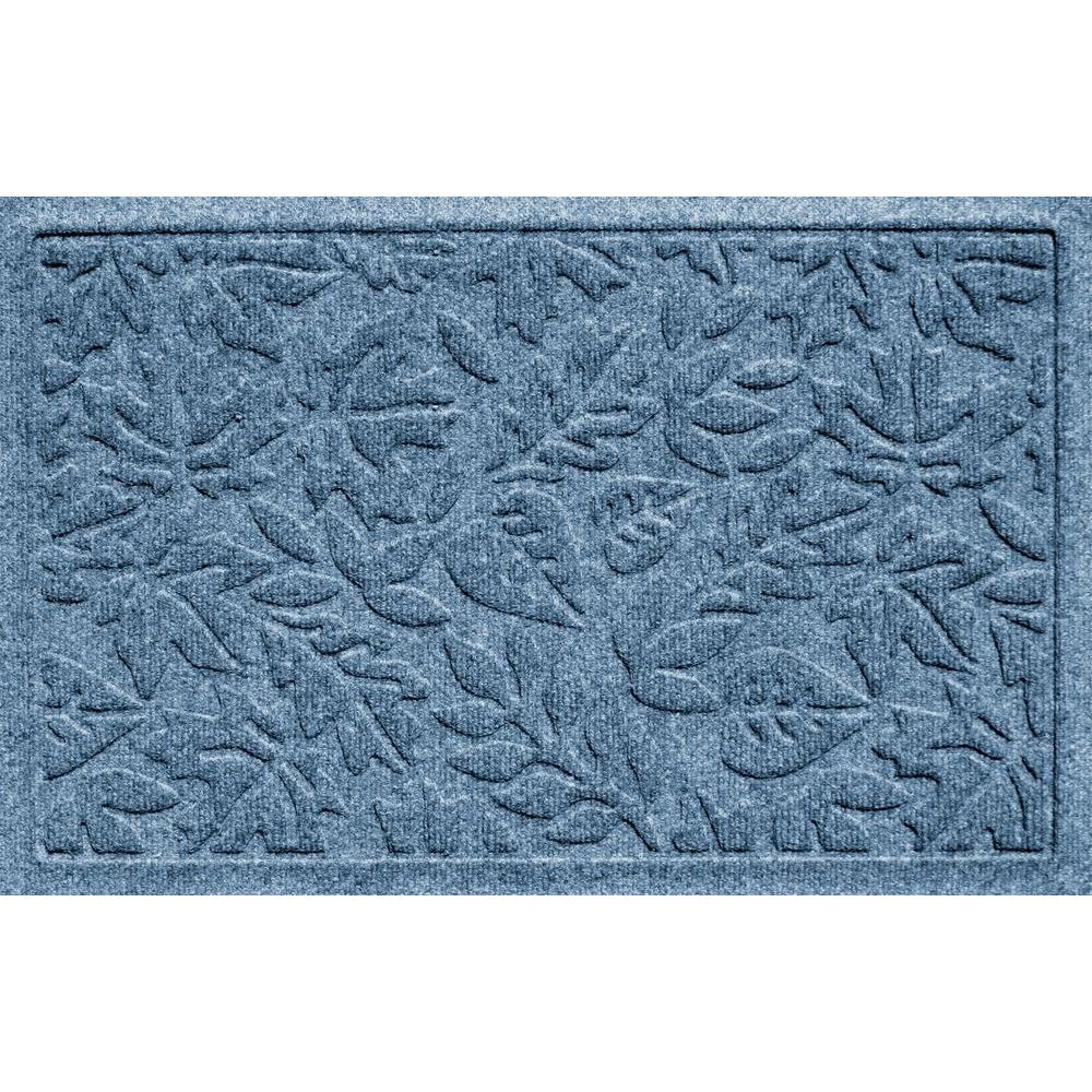 Bungalow Aqua Shield Fall Day Bluestone 17.5 in. x 26.5 i...