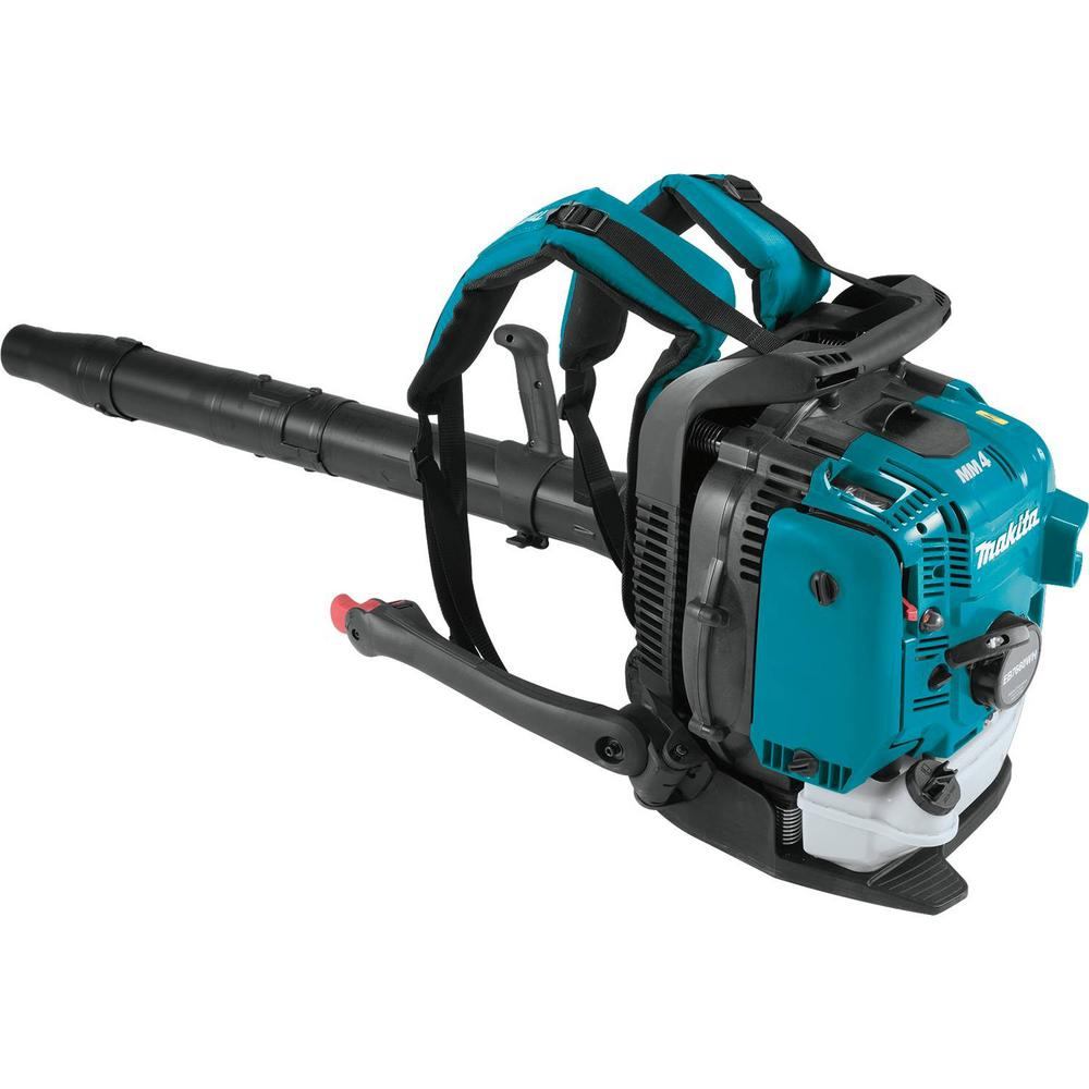 Makita 206 MPH 706 CFM 75.6cc MM4 4-Stroke Engine Hip Throttle Backpack Blower