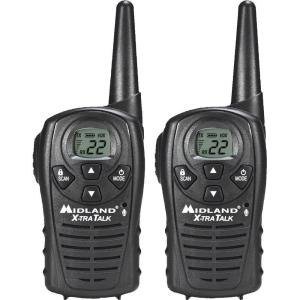 Midland X-TRA TALK GMRS 2-Way 18-Mile 22 Channel Radios (2-Pack) by Midland