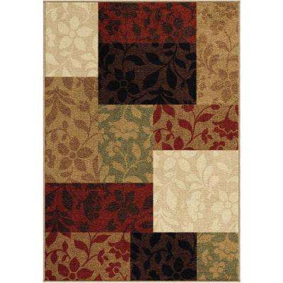 Floral Patch Multi 5 ft. x 8 ft. Indoor/Outdoor Area Rug