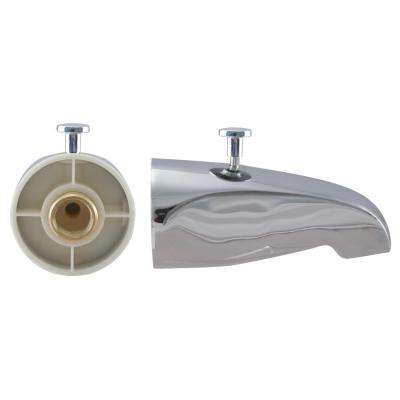 5-1/4 in. Rear Diverter Tub Spout with Rear Connection in Chrome