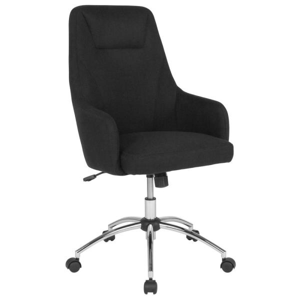 Flash Furniture Black Fabric Office/Desk Chair CGA-BT-232156-BL-HD