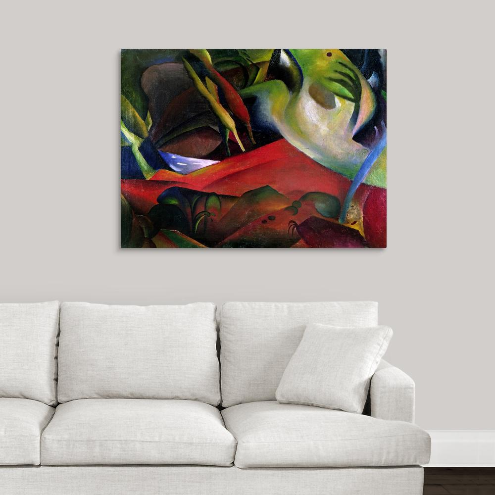 Greatbigcanvas The Storm 1911 By Great Big Canvas Canvas Wall Art