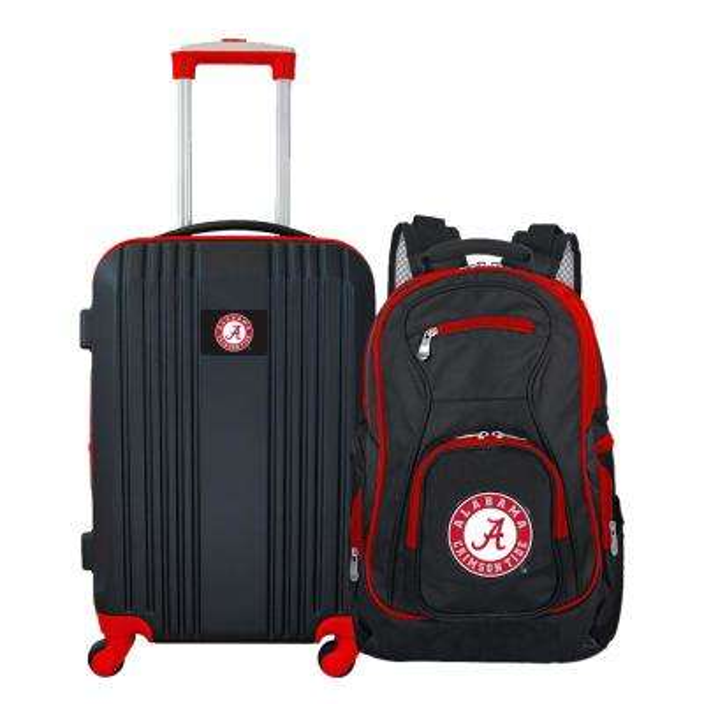 NCAA Alabama Crimson Tide 2-Piece Set Luggage and Backpack