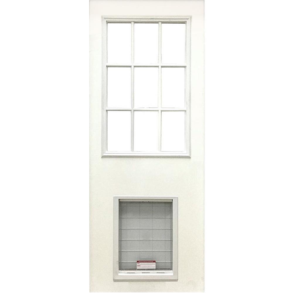 X 79 In Clear 9 Lite White Primed