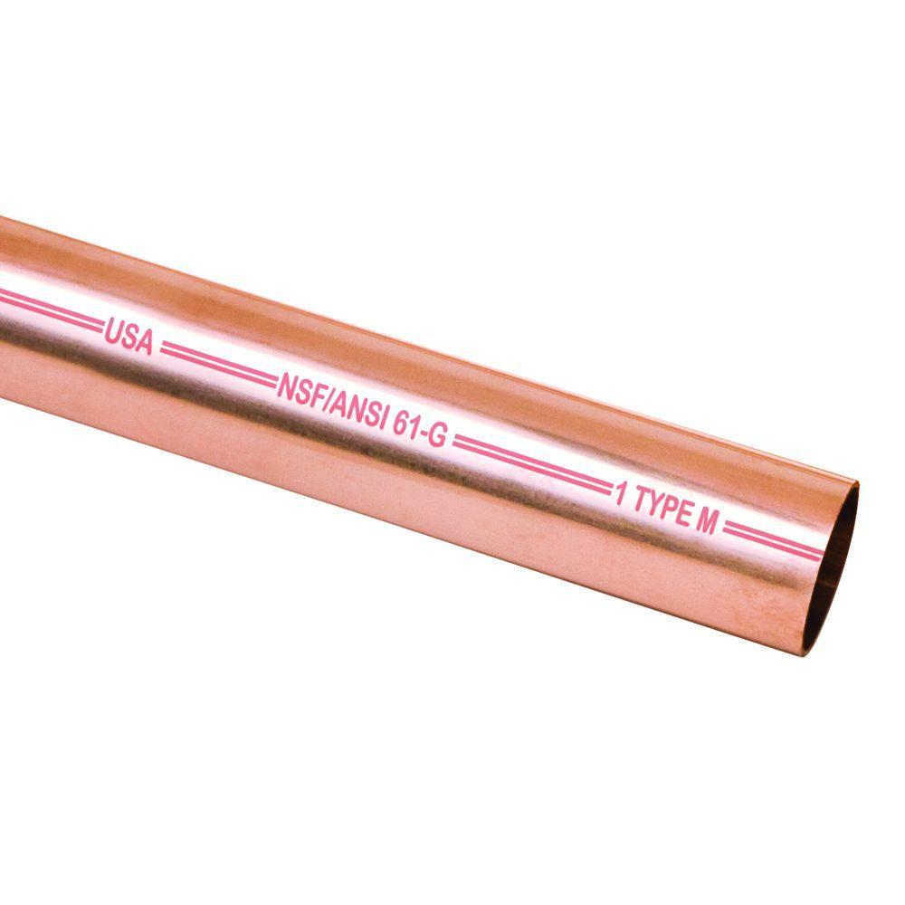 Mueller Streamline 1 in. x 2 ft. Copper Type M Pipe
