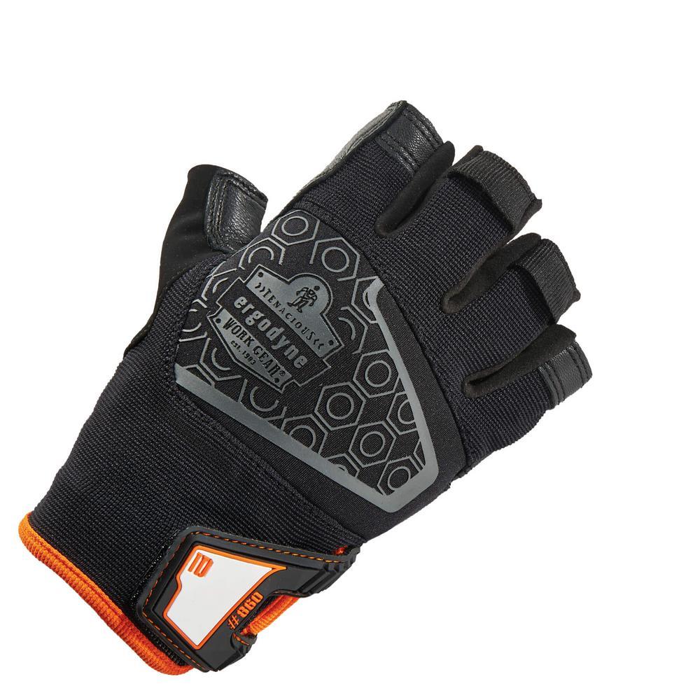 Ergodyne ProFlex Extra Large Black Heavy Lifting Utility Work Gloves
